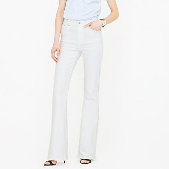 c58f51763df NWT White High Waist Flare Jeans